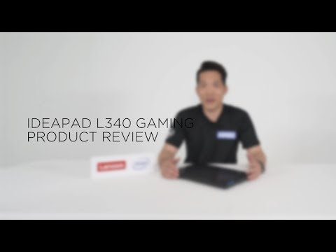 Ideapad L340 Gaming - Product Review (아이디어패드 L340 게이밍 제품리뷰)