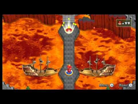 Newer Super Mario Bros. Wii - World 8 - Koopa Planet/Koopa Core + Credits