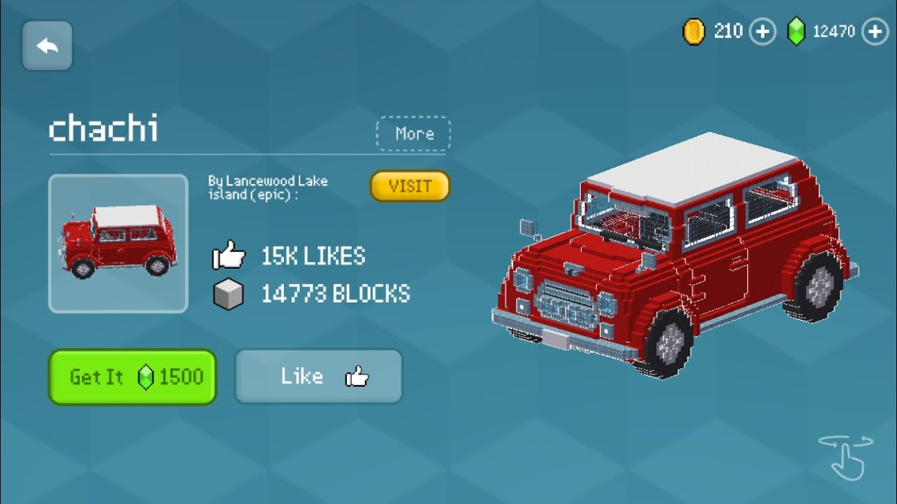 Block Craft 3D : Building Simulator Games For Free Gameplay #628 (iOS & Android) | Car 🚘 (Chachi)