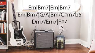 Funk Guitar Backing Track | B Minor | Mr. Mitter