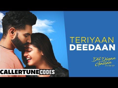 Teriyan Deedan (CRBT Codes) | Parmish Verma | Prabh Gill | Desi Crew | Dil Diyan Gallan