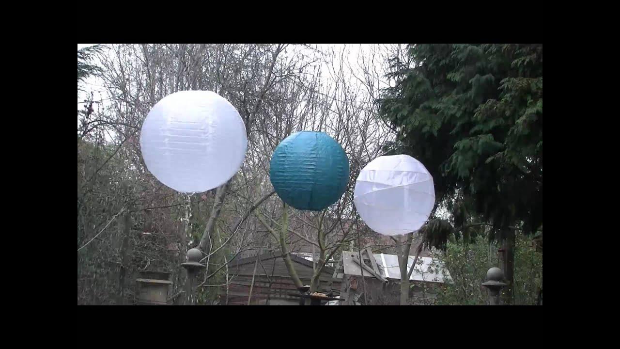 Le lanterne di carta sono resistenti anche in caso di un ...