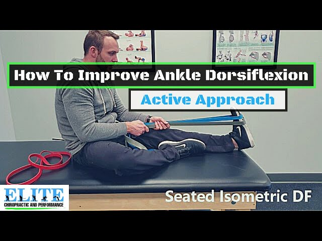 How To Improve Ankle Dorsiflexion (Active) | Chesterfield Chiropractor