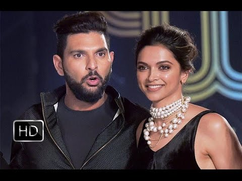 Yuvraj Singh and Deepika Padukone