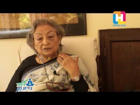 Bazaar Guru with Ambika Shrestha( Entrepreneur of Dwarika Hotel)