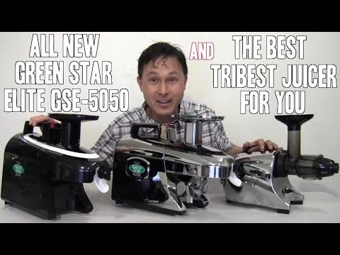 New Green Star Elite GSE-5050 & The Best Tribest Juicer