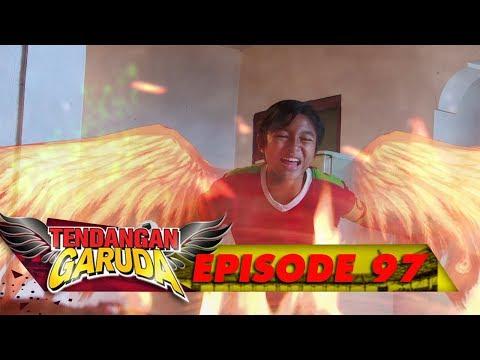 Keren! Tendangan Garuda Iqbal Mampu Mengalahkan Gejolak Api - Tendangan Garuda Eps 97