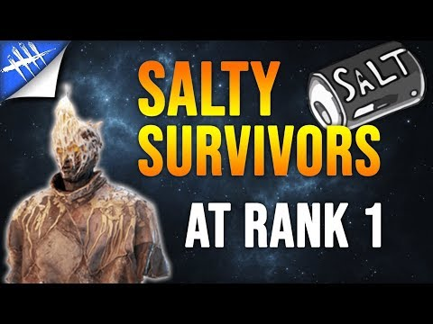 Dead by Daylight Wraith Gameplay - Rank 1 Gets Salty