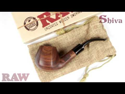 RAW Natural Wooden Pipe : Shiva Online