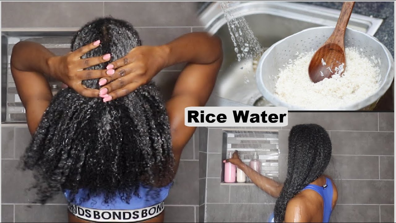 Overnight Rice Water For Extreme Hair growth | 3 ways to longer, thicker hair with Rice Water