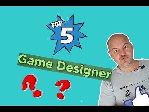 Top 5 des meilleurs Game Designer dans le jeu de société