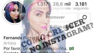 DICAS PARA CRESCER NO INSTAGRAM - Fernanda Pizzatti