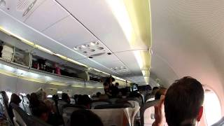 Lustige Ansage im Flugzeug (Lufthansa)