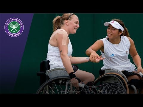 Jordanne Whiley & Yui Kamiji retain Wimbledon 2017 ladies' wheelchair doubles title