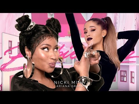 Nicki Minaj & Ariana Grande - Step On Barbie Tingz (Mashup) | MV