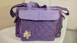 Como fazer uma bolsa maternidade