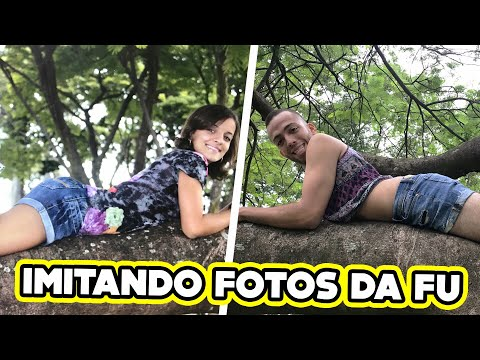 IMITANDO FOTOS DO ÁLBUM DE 15 ANOS DA FU!