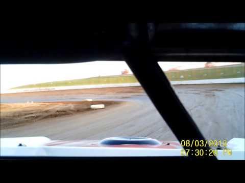 Lucas Oil Speedway B-Mod Feature #1 8-03-13