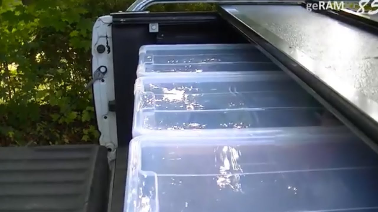 build your own truck bed storage |boxes idea install pick up