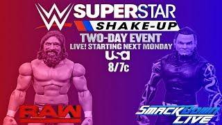 WWE SUPERSTAR SHAKE-UP 2018 PREDICTIONS! WWE FIGURES!