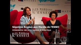 Ségolène Royal aux Mardis de l'ESSEC