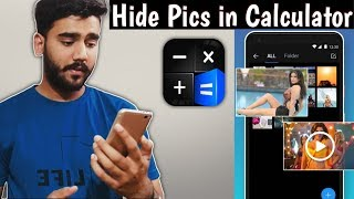 How to hide photos in Calculator | How to hide your SECRET FILES in CALCULATOR screenshot 1