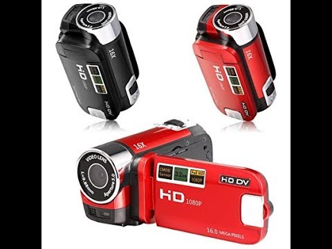 Cheap HD DV 1080P Camcorder Halfassed Review