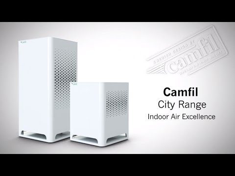 Camfil Air Purifier City Youtube