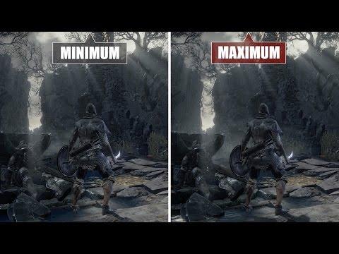 Dark Souls 3: Grafikvergleich - PC - Min vs. Max