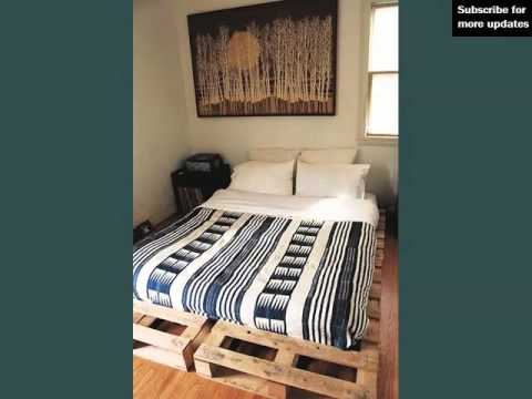 Pallet Furniture Ideas Picture Set  Pallets As Bed