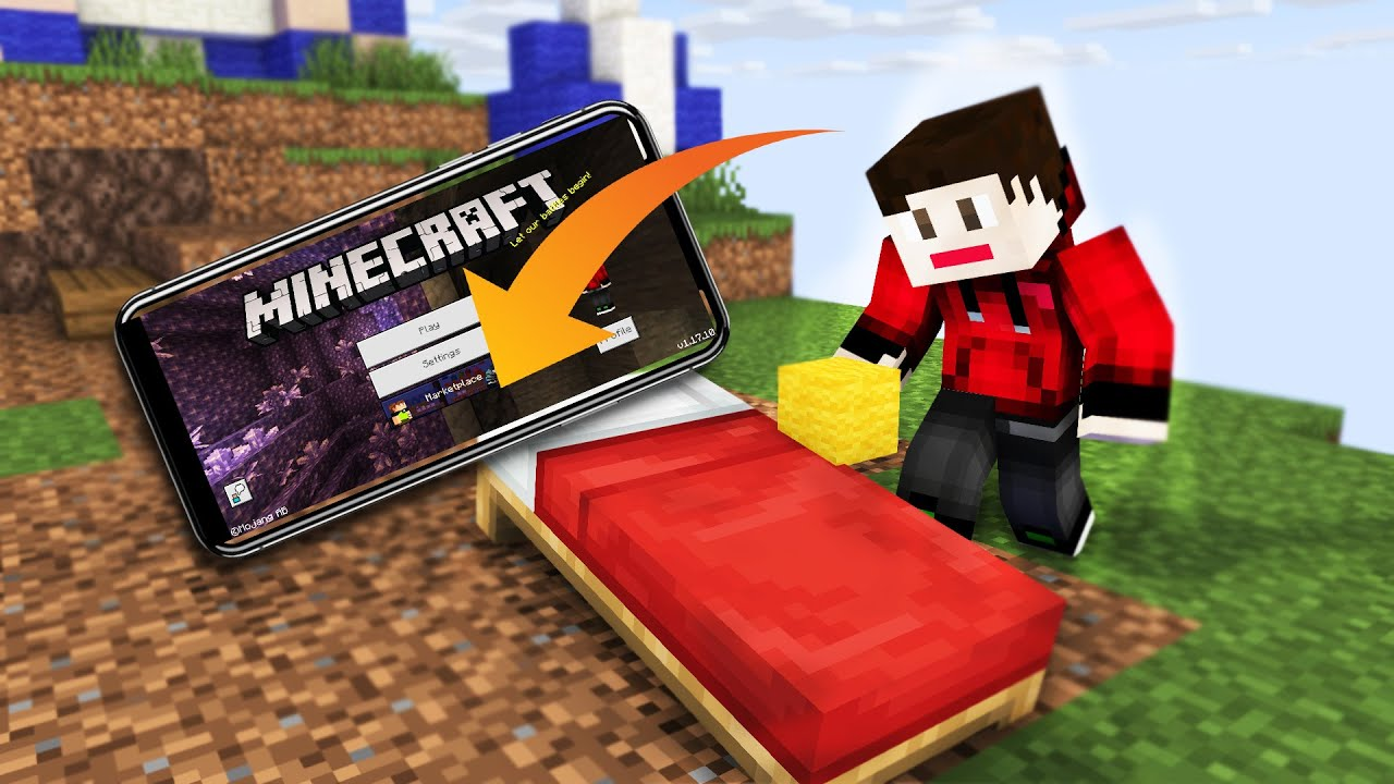 First Time Playing BedWars In Mobile   | McpeHindi