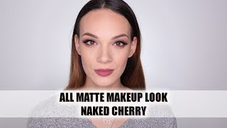 Jesenji MAT makeup sa NAKED CHERRY paletom