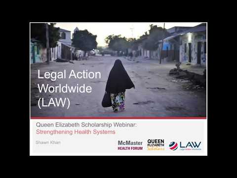 Experiences working with Legal Action Worldwide (LAW)