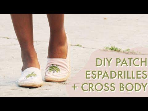 Easy Patch Espadrilles Upgrade   Slide Hustle