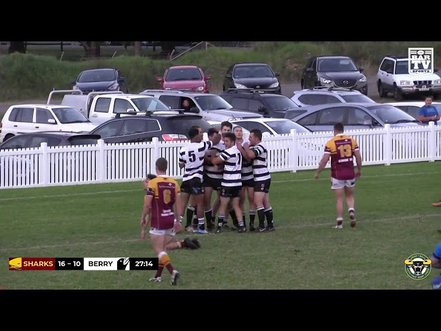 2019 Group 7 RL 1st Grade Round 6 Highlights - Shellharbour Sharks vs Berry-Shoalhaven Heads Magpies