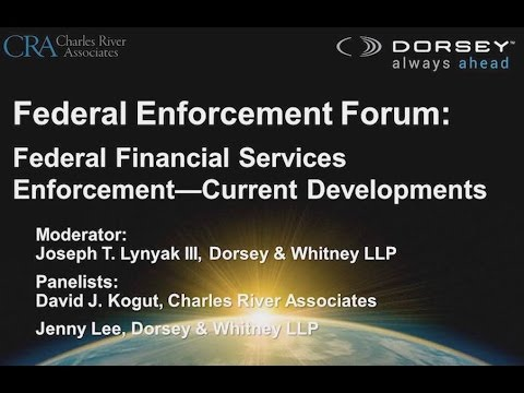 Webinar Playback: Panel III - Current Developments in Financial Services Regulatory Enforcement