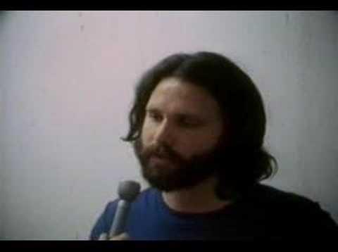 jim morrison - miami trial interview (san diego, 1970)