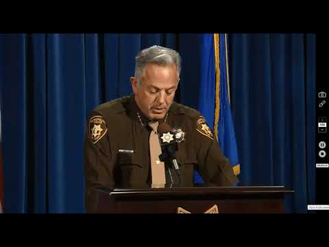 CRY ME A RIVER   LAS VEGAS SHOOTING   SHERIFF JOE PRESS CONFERENCE EVIDENCE UPDATE