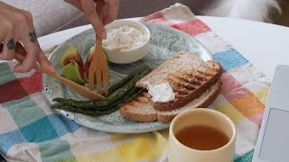 Dailylog#33  |  Vegan mini pancake, kahvaltı, resim yapamamak