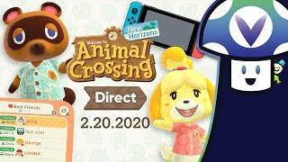 [Vinesauce] Vinny - Animal Crossing: New Horizons ~ 2.20.2020 Direct