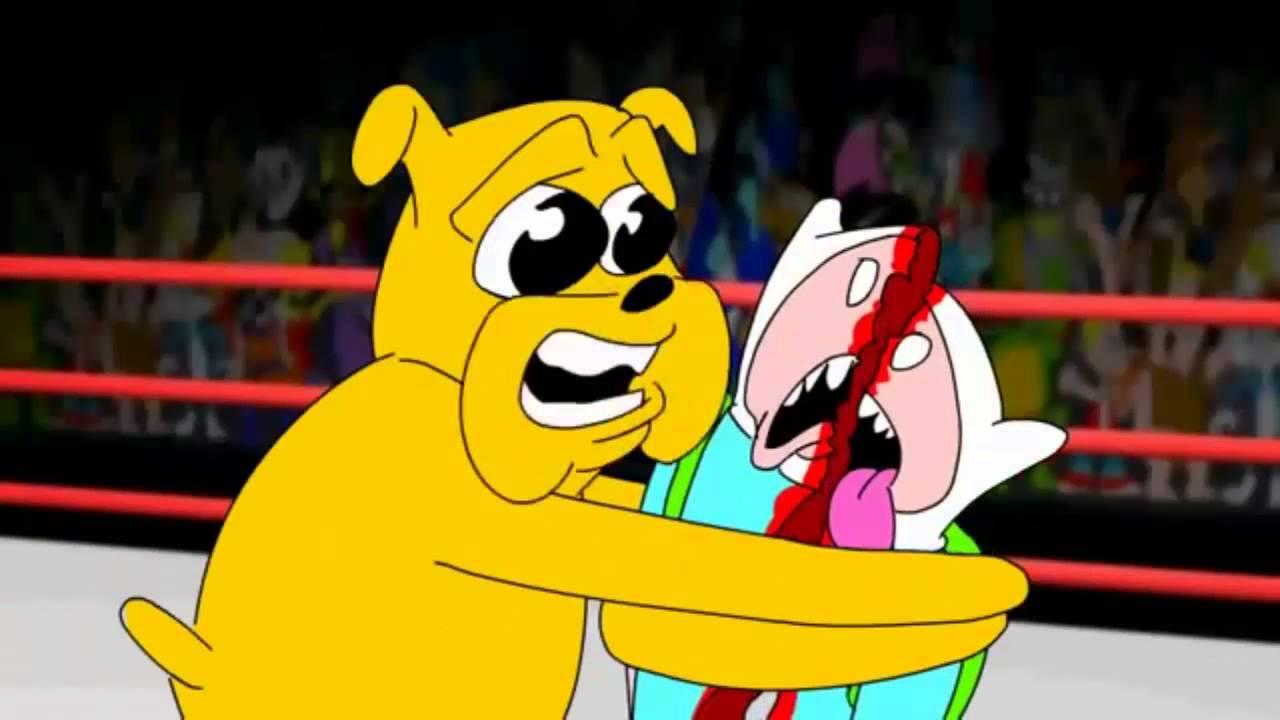 Toonsmyth Spongebob Vs Adventure Time Ita Youtube