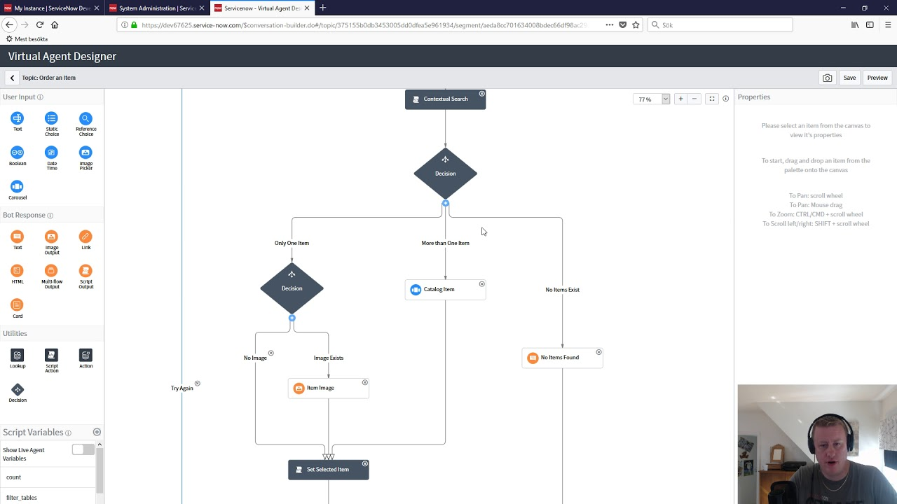 Virtual Agent setup in ServiceNow Part 1