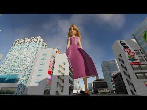 Download Sizebox (Game) - Rapunzel in the city (Close Feet Szenes) 1