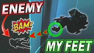 RARE FOOT FRAG IN RANKED - Rainbow Six Siege (Operation Chimera)