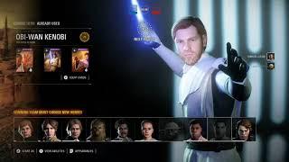 Star Wars Battlefront 2-  Hero Showdown (Intense 1v1's)