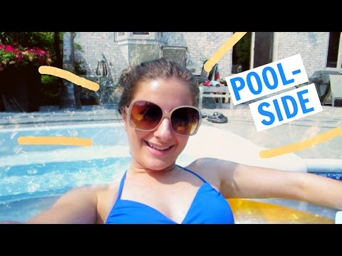 POOL-SIDE WEEKEND | Weekly Vlog 5