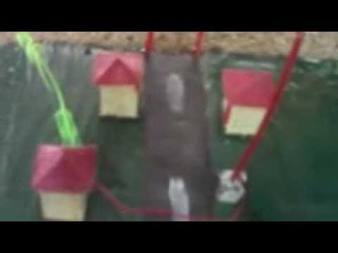 Working Model Of Hydroelectric Dam(Simple Science Experiments) By Rathina Samy Travel Video