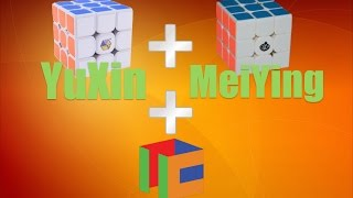 Cubicle Premium YuXin and MeiYing 3x3 Cubes Unboxing and First Impressions!