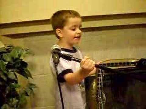 Noah Parker--Livin' On A Prayer Age 4
