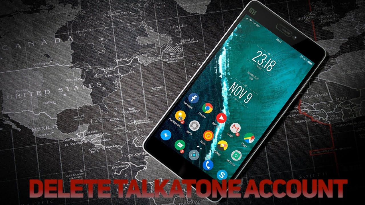 How To Delete A Talkatone Account